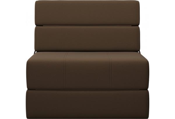 Кресло тканевое Форест тёмно-коричневый (Рогожка) - фото 2