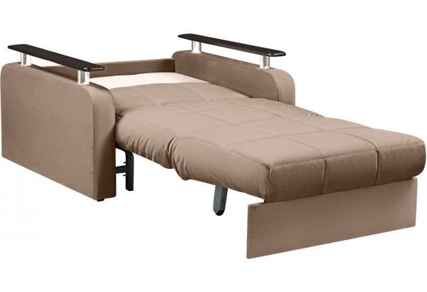 Кресло тканевое Денвер коричневый (Велюр) - фото 6