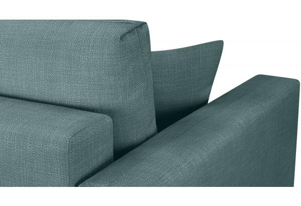 Модульный диван Брайтон вариант №1 голубой (Рогожка) - фото 8