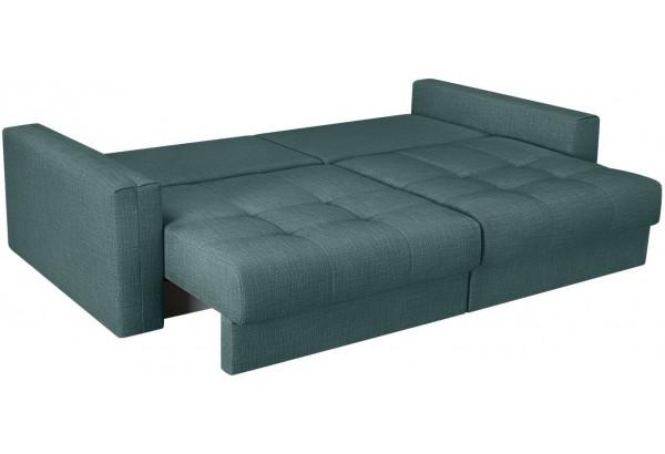 Модульный диван Брайтон вариант №1 голубой (Рогожка) - фото 6