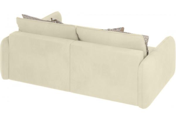 Модульный диван Портленд вариант №4 молочный (Микровелюр, правый) - фото 3
