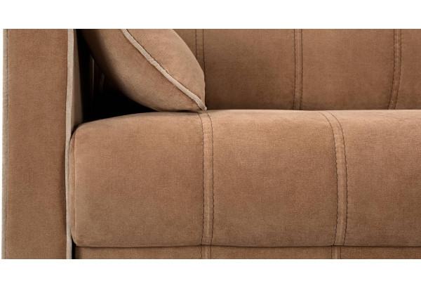 Диван тканевый прямой Римини коричневый (Вельвет) - фото 9