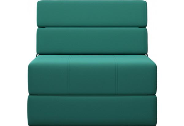Кресло тканевое Форест изумрудный (Рогожка) - фото 2