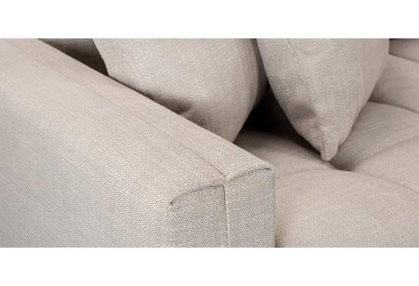 Модульный диван Брайтон вариант №3 бежевый (Рогожка) - фото 9