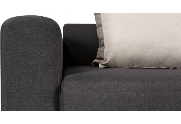 Кресло тканевое Медисон Вариант №1 100 см тёмно-серый (Рогожка) - фото 9