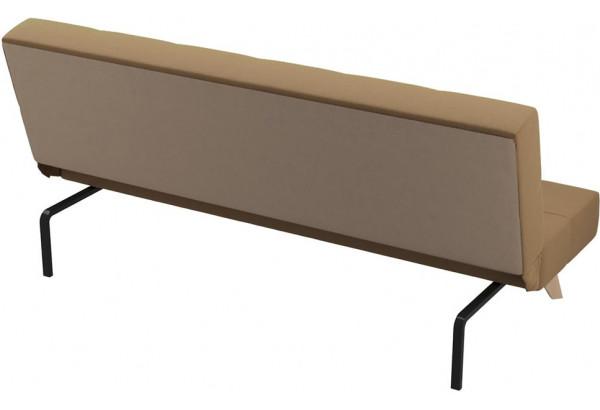Диван тканевый прямой Касабланка коричневый (Рогожка) - фото 3
