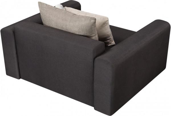 Кресло тканевое Медисон Вариант №1 100 см тёмно-серый (Рогожка) - фото 5