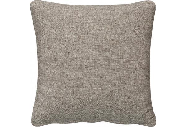Декоративная подушка Медисон 40х40 см серый (Рогожка) - фото 1