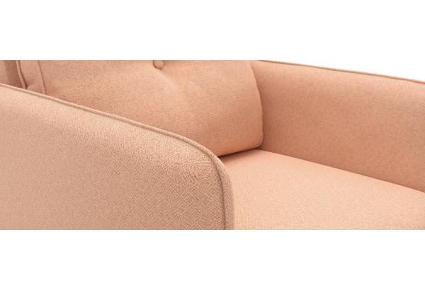 Кресло тканевое Голливуд розовый (Рогожка) - фото 5