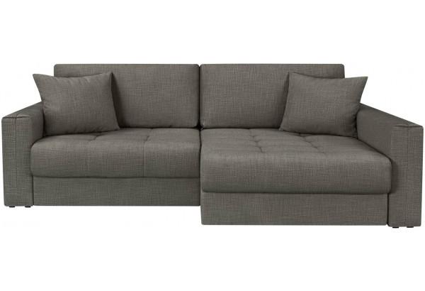 Модульный диван Брайтон вариант №2 серый (Рогожка) - фото 4