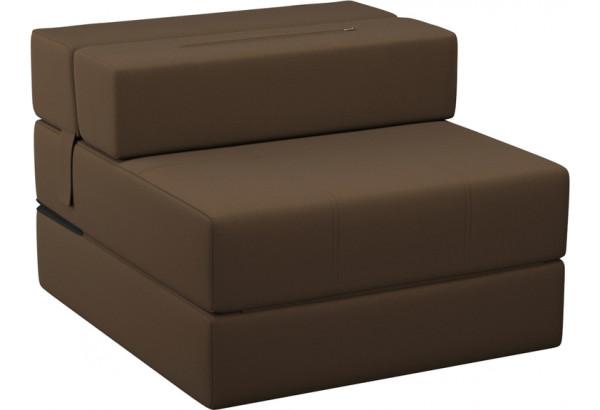Кресло тканевое Форест тёмно-коричневый (Рогожка) - фото 4