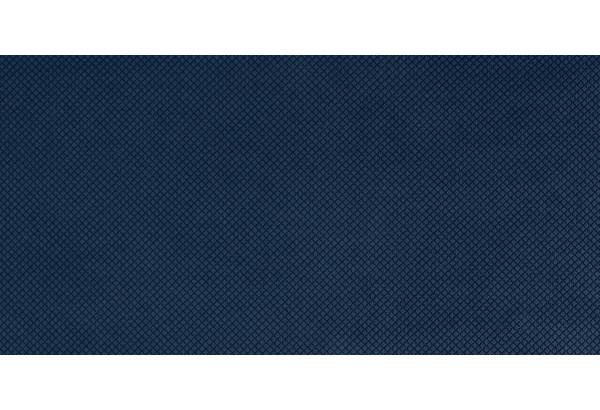 Диван тканевый прямой Слим тёмно-синий (Велюр) - фото 8