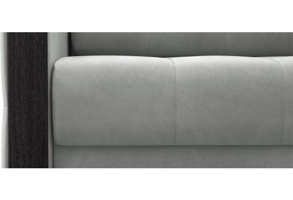Диван тканевый прямой Валенсия-1 светло-серый (Велюр) - фото 6