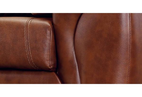 Кресло кожаное Бристоль Коричневый (Кожаное изделие) - фото 6