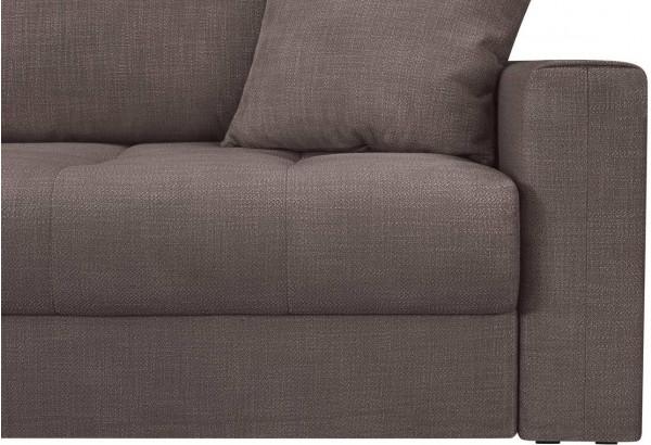 Модульный диван Брайтон вариант №1 графитовый (Рогожка) - фото 8