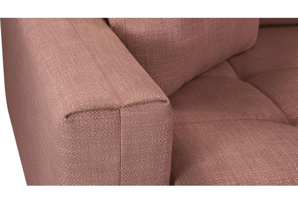 Модульный диван Брайтон вариант №2 розовый (Рогожка) - фото 10