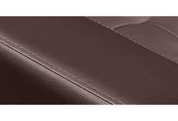 Диван кожаный прямой Камелот Шоколад (Кожа) - фото 9