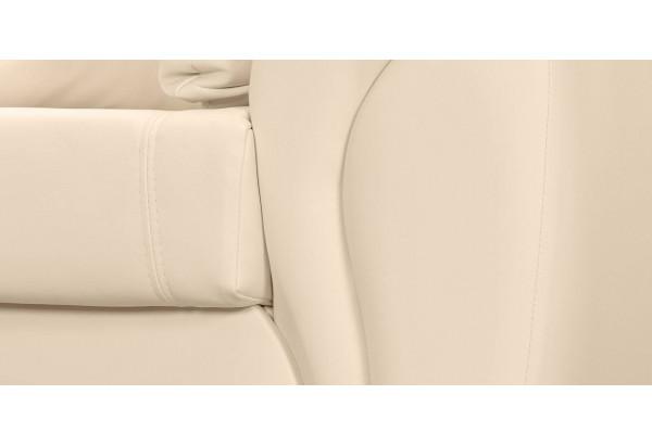 Кресло кожаное Бристоль Бежевый (Кожаное изделие) - фото 5