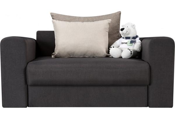 Кресло тканевое Медисон Вариант №1 100 см тёмно-серый (Рогожка) - фото 4