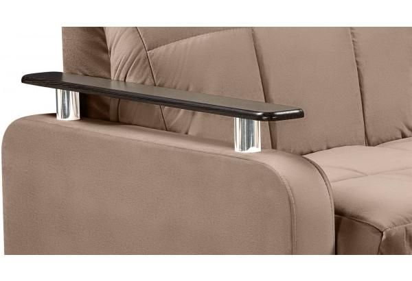 Кресло тканевое Денвер коричневый (Велюр) - фото 7