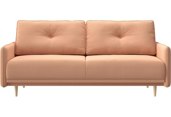 Диван тканевый прямой Голливуд розовый (Рогожка) - фото 2