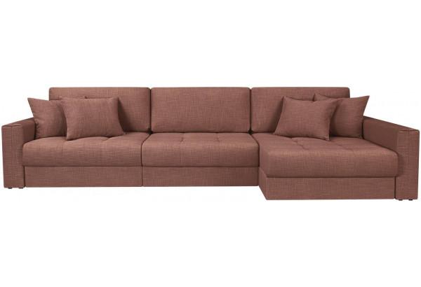Модульный диван Брайтон вариант №3 розовый (Рогожка) - фото 4