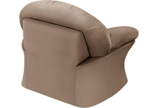 Кресло тканевое Ланкастер коричневый (Велюр) - фото 4