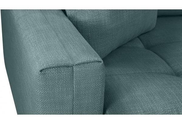 Модульный диван Брайтон вариант №2 голубой (Рогожка) - фото 10