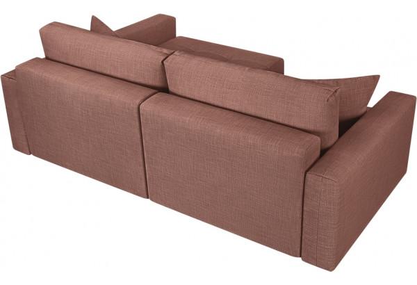 Модульный диван Брайтон вариант №2 розовый (Рогожка) - фото 5
