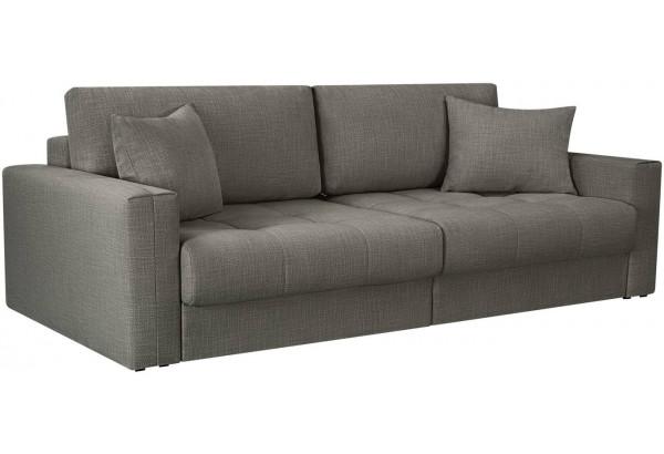 Модульный диван Брайтон вариант №1 серый (Рогожка) - фото 1