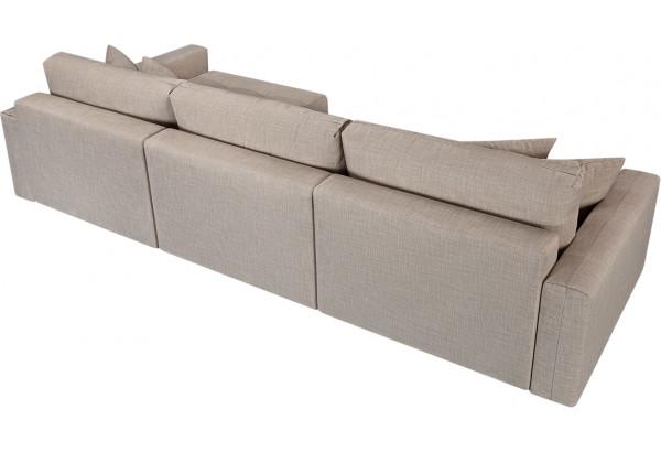 Модульный диван Брайтон вариант №3 бежевый (Рогожка) - фото 5