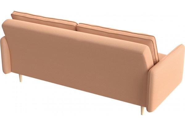 Диван тканевый прямой Голливуд розовый (Рогожка) - фото 3
