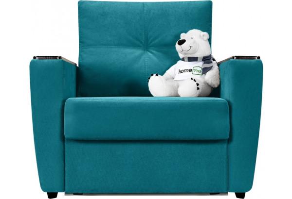 Кресло тканевое Майами бирюзовый (Велюр) - фото 4