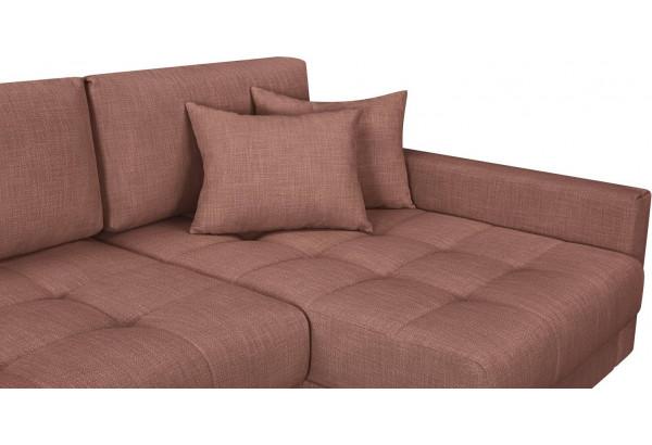 Модульный диван Брайтон вариант №3 розовый (Рогожка) - фото 7