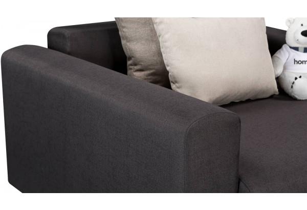 Кресло тканевое Медисон Вариант №1 100 см тёмно-серый (Рогожка) - фото 7