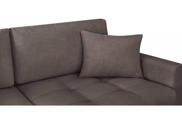 Модульный диван Брайтон вариант №1 графитовый (Рогожка) - фото 7