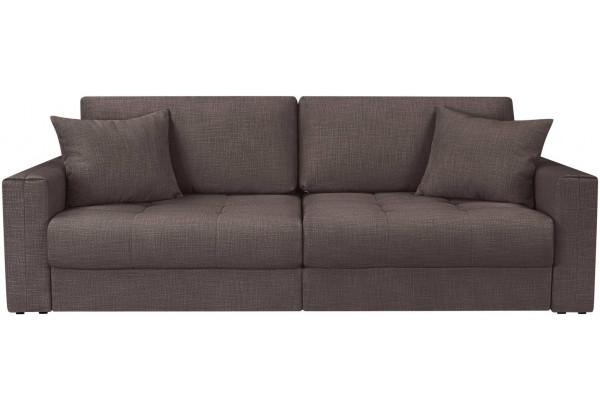 Модульный диван Брайтон вариант №1 графитовый (Рогожка) - фото 4