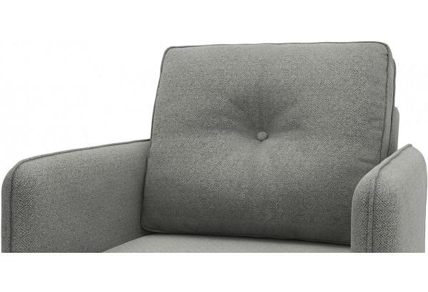 Кресло тканевое Голливуд серый (Рогожка) - фото 4