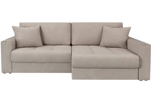 Модульный диван Брайтон вариант №2 бежевый (Рогожка) - фото 4