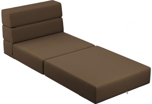 Кресло тканевое Форест тёмно-коричневый (Рогожка) - фото 5