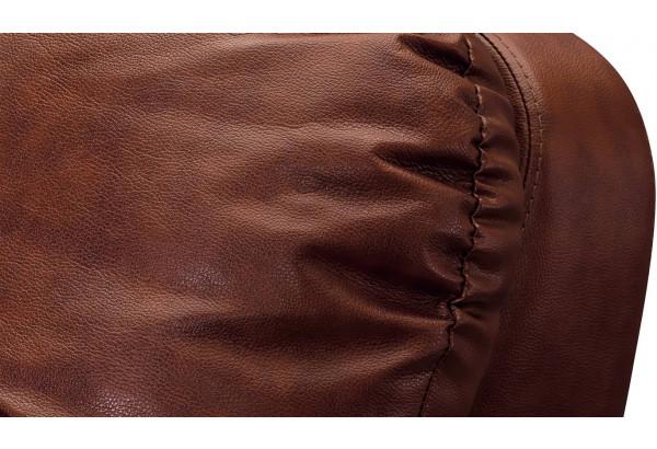 Кресло кожаное Бристоль Коричневый (Кожаное изделие) - фото 5