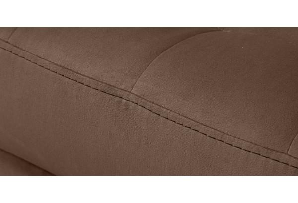 Кресло тканевое Камелот темно-коричневый (Велюр) - фото 5