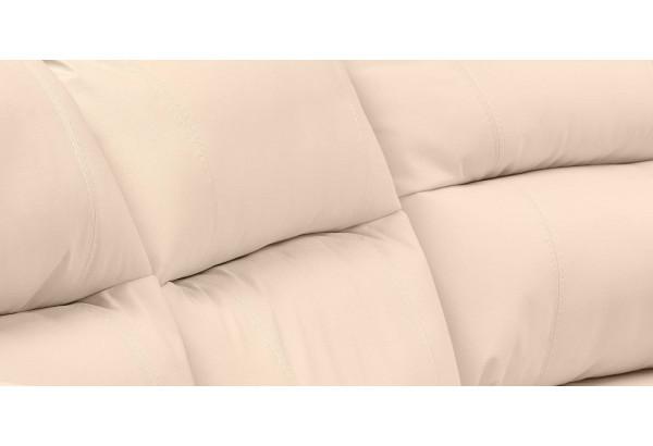 Диван кожаный угловой Бристоль Бежевый (Кожаное изделие, правый) - фото 8