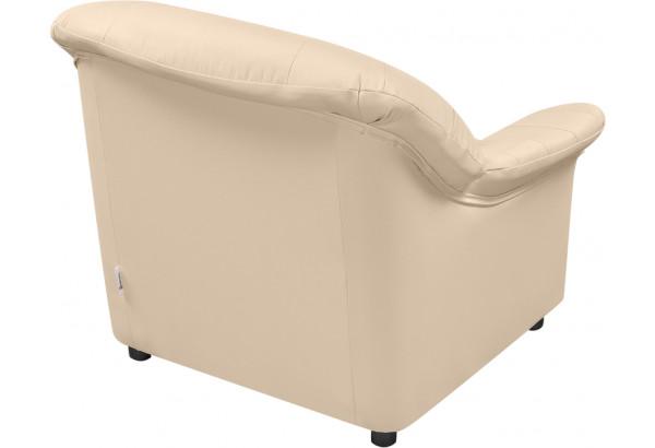 Кресло кожаное Женева Бежевый (Кожаное изделие) - фото 3
