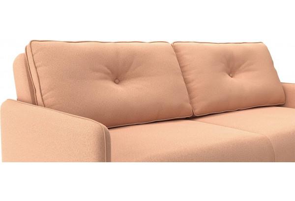 Диван тканевый прямой Голливуд розовый (Рогожка) - фото 7