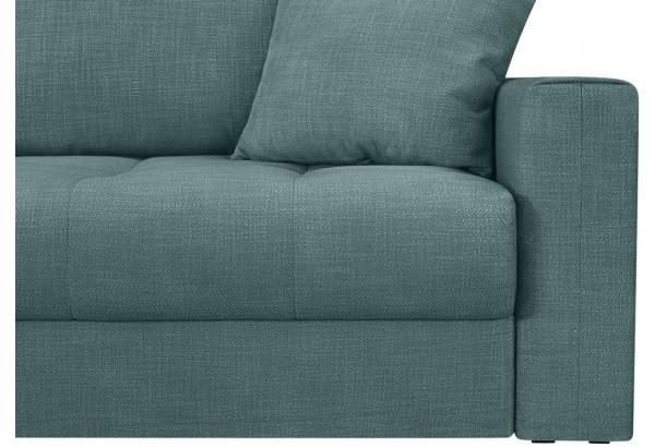 Модульный диван Брайтон вариант №1 голубой (Рогожка) - фото 9