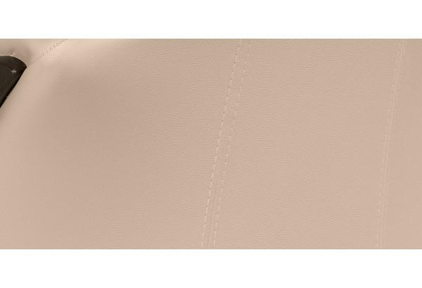 Кресло кожаное Ланкастер Бежевый (Кожаное изделие) - фото 8