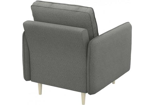 Кресло тканевое Голливуд серый (Рогожка) - фото 3