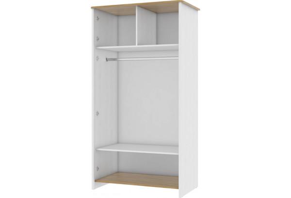 Шкаф распашной двухдверный Тиффани (дубнебраска/белый) - фото 2