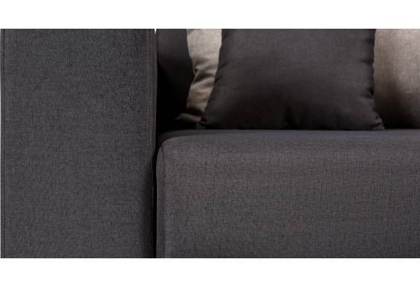 Кресло тканевое Медисон Вариант №2 80 см тёмно-серый (Рогожка) - фото 8